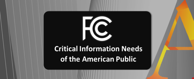 FCC Critical Information Needs of the American Public